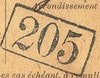 Bezirk stamp of type 100