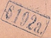 Bezirk stamp of type 1000-a