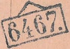 Bezirk stamp of type 1000-top