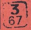 Bezirk stamp of type 3-boehmen-maehren