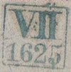 Bezirk stamp of type VII-boehmen