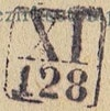 Bezirk stamp of type XI-schlesien