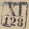 Bezirk stamp of type XI-schlesien