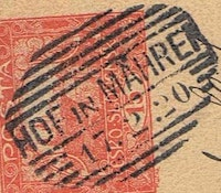Image of the stamp type Č1.