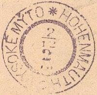 Image of the stamp type D18.