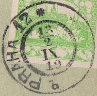 Image of the stamp type D18z.