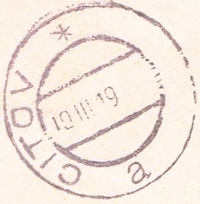 Image of the stamp type M13z.